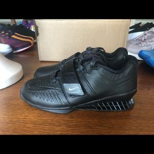 Nike Romaleos 3 XD Black Weightlifting Shoe Womens